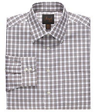 Joseph Spread Collar Cotton Buffalo Dress Shirt