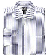 Signature Spread Collar Tailored Fit Dress Shirt