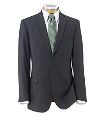 Joseph Slim Fit 2-Button Suits with Plain Front Trousers Extended Sizes