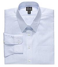 Traveler Point Collar Pattern Dress Shirt Big/Tall