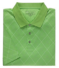 David Leadbetter Polo with Fast-Dry Fabric Big/Tall Sizes
