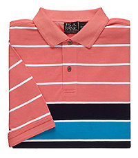 Traveler Short-Sleeve Patterned Polo