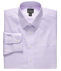 Traveler Slim Fit Spread Collar Dress Shirt