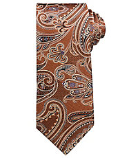 Signature Paisley on Herringbone Grid Tie $79.50 AT vintagedancer.com