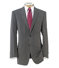 Crossover Tailored Fit 2 Button Suit with Plain Front Trousers