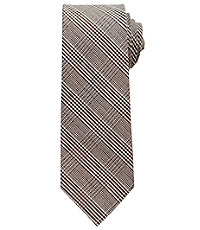 Heritage Collection Tonal Glen Plaid Tie $89.50 AT vintagedancer.com