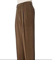 Factory Corduroy Pleated Pants $44.99 AT vintagedancer.com