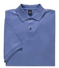 Executive Short-Sleeve Interlock Polos