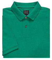 Executive Short-Sleeve Pique Polos