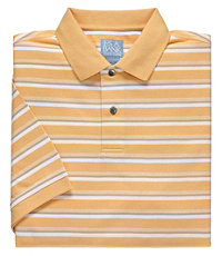 Stays Cool Striped Polo
