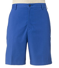 Traveler Stays Cool Cotton Shorts Plain Front Big/Tall