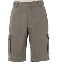 VIP Take It Easy Cargo Plain Front Shorts Big/Tall