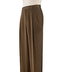 Executive Pleated Corduroy Pant Extended Sizes