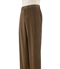 Executive Plain Front Corduroy Pant