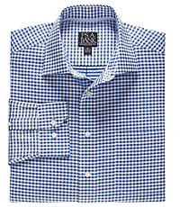 Signature Long-Sleeve Wrinkle-Free Cotton Spreadcolor Sportshirt