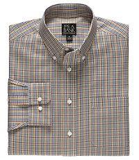 Traveler Long-Sleeve Buttondown Pattern Sportshirt Big/Tall