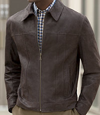 Executive Vintage Suede Jacket