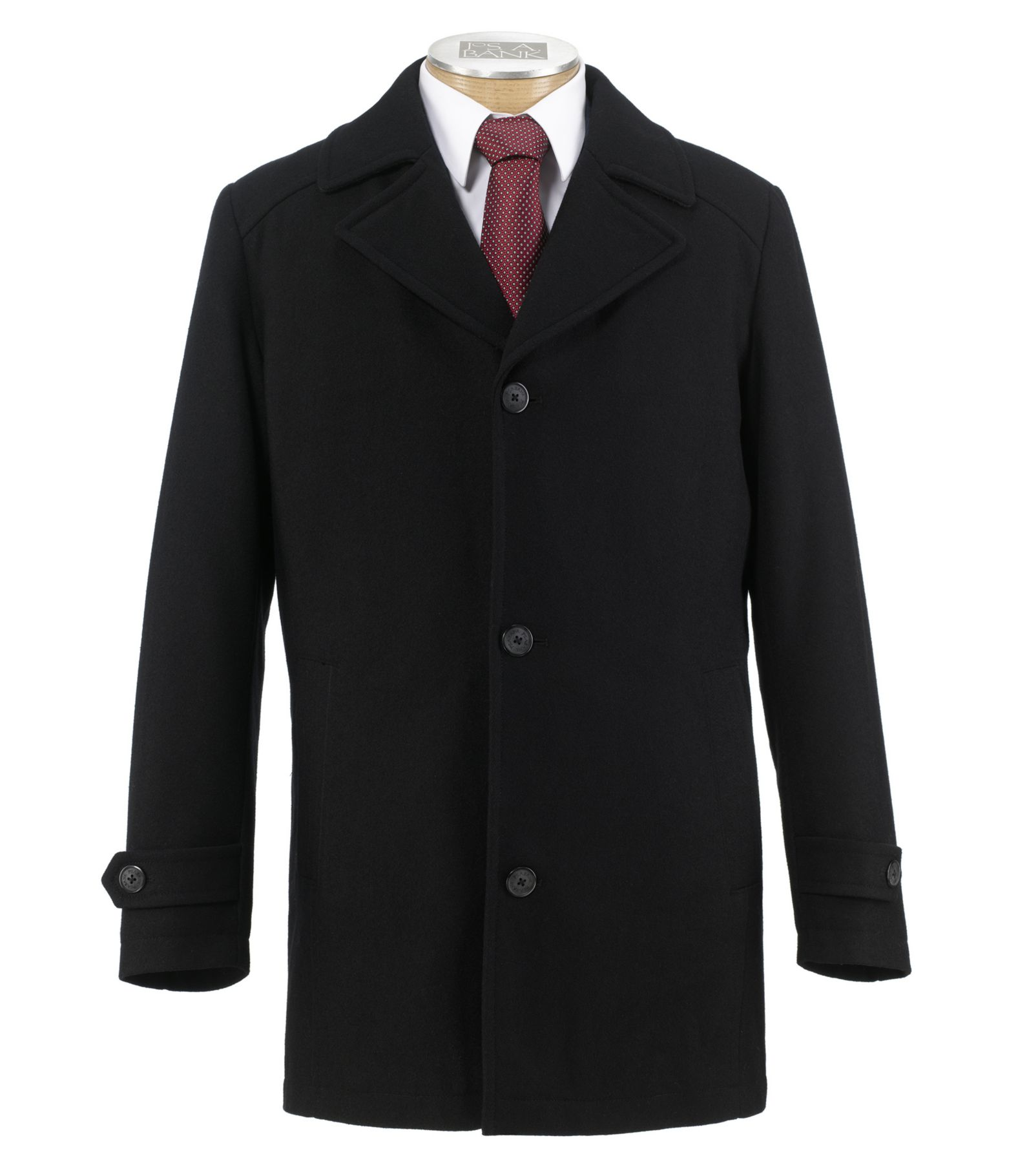 Executive Collection Traditional Fit Car Coat CLEARANCE - $79 Wool ...