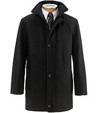 Jos. A. Bank Heathered Wool Coat
