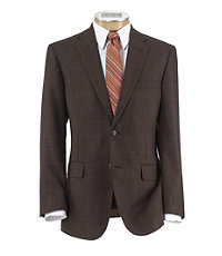 Joseph 2 Button Tailored Fit Windowpane Sportcoat