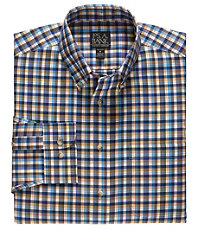 Traveler Wrinkle Free Slim Fit Long Button Down Sportshirt