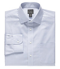 Traveler Tailored Fit Spread Collar Dress Shirt