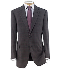 Signature Imperial Blend 2 Button Silk/Wool Sportcoat Extended Sizes