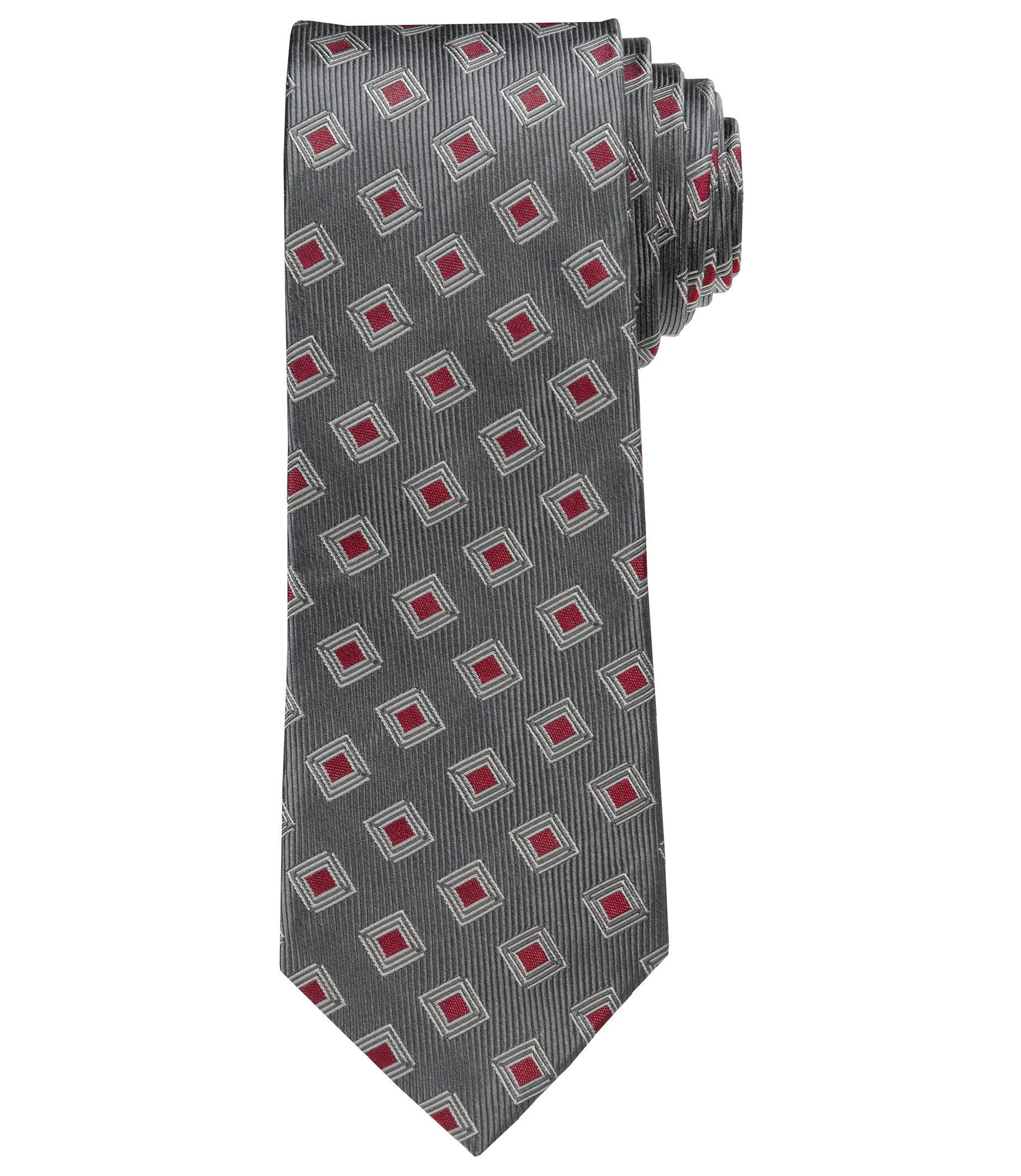 Joseph Neat Squares Tie
