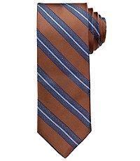 Joseph Satin Stripe Tie