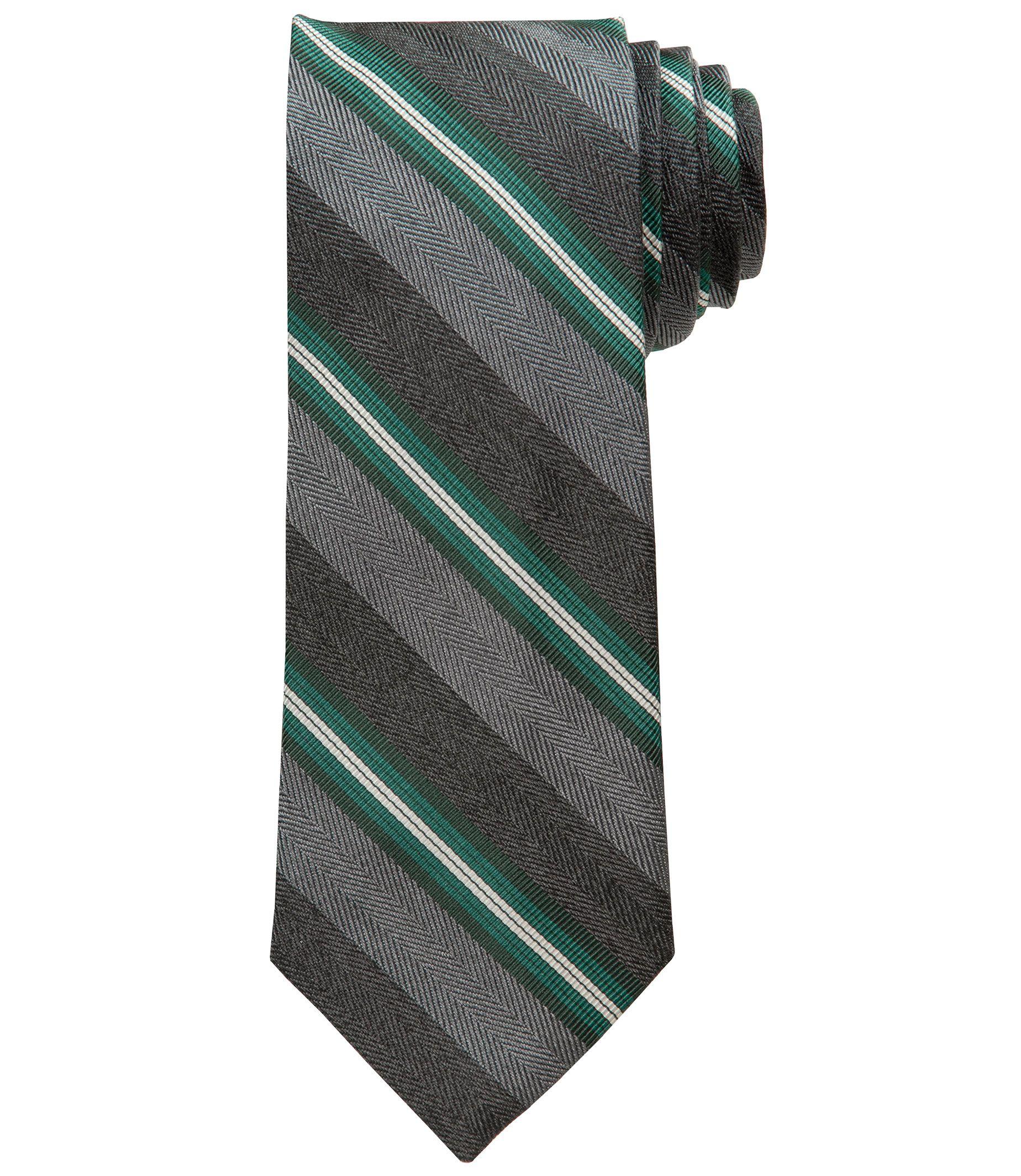 Joseph Stipe with Alternating Herringbone Tie