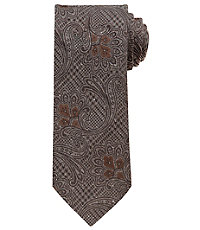 Joseph Paisley on Glen Plaid Tie $79.50 AT vintagedancer.com