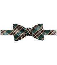 Executive Collection Seasonal Plaid Bow Tie