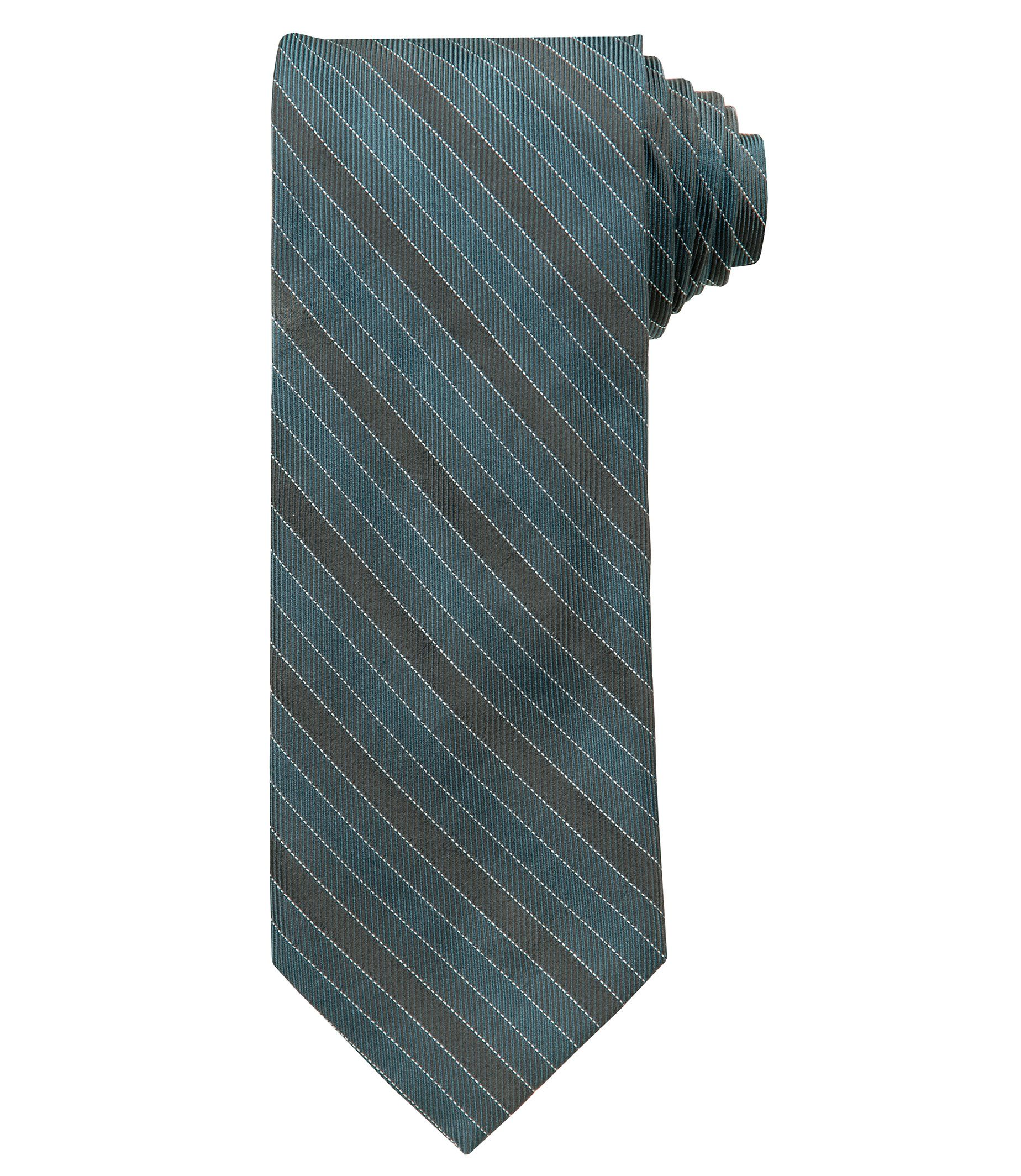 Joseph Tonal Tripple Bar Stripe Tie