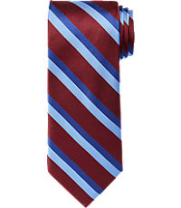 Signature Satin Triple Bar Stripe Tie