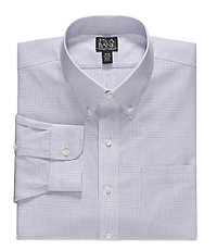 Traveler Buttondown Triple Stripe Dress Shirt Big/Tall