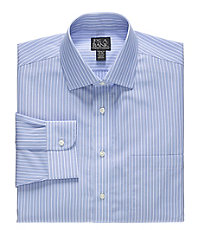 Traveler Tailored Fit Spread Collar Dress Shirt Big or Tall.