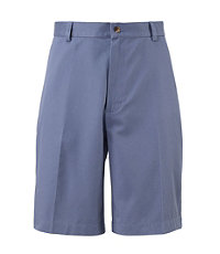 Traveler Cotton Shorts Tailored Fit Plain Front