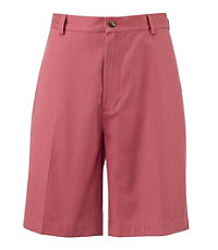 Traveler Cotton Shorts Tailored Fit Plain Front Extended Sizes
