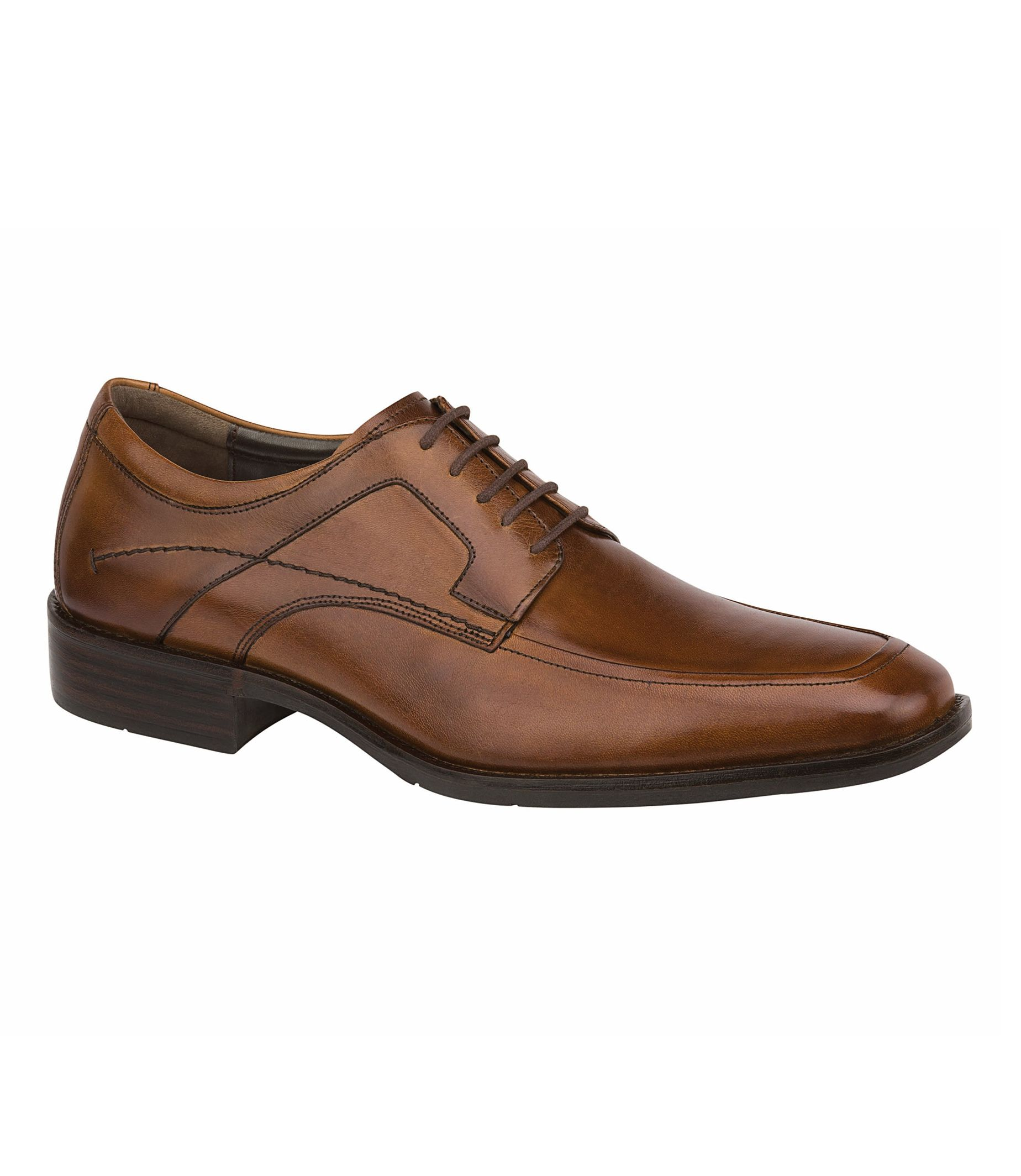 Larsey Moc Lace-Up Shoe by Johnston and Murphy