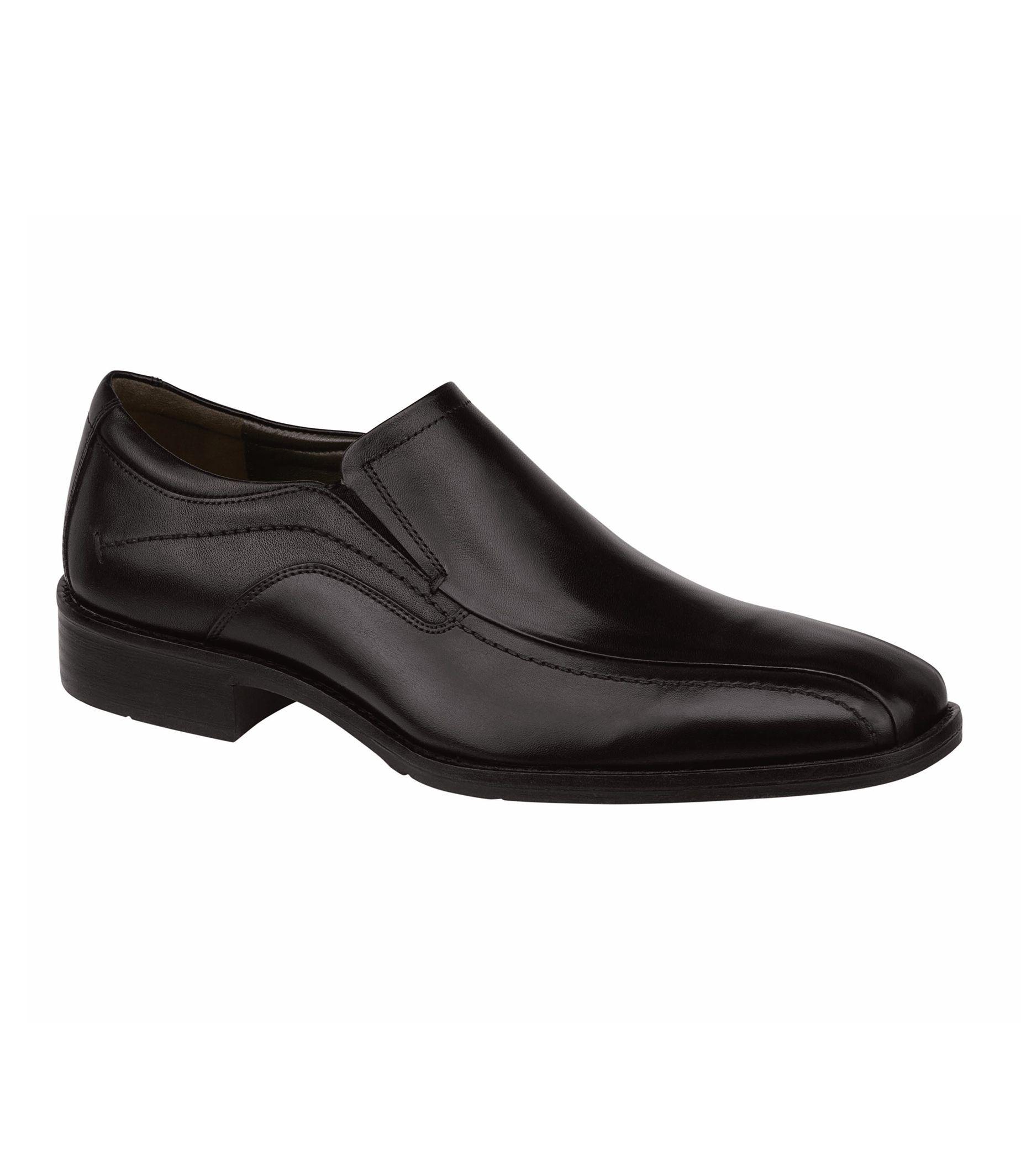 Larsey Runoff Moc Venetian Shoe by Johnston and Murphy