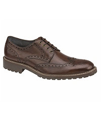 Hewitt Wingtip Shoe by Johnston and Murphy