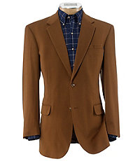 Executive 2-button Wool/Cashmere Sportcoat Extended Sizes
