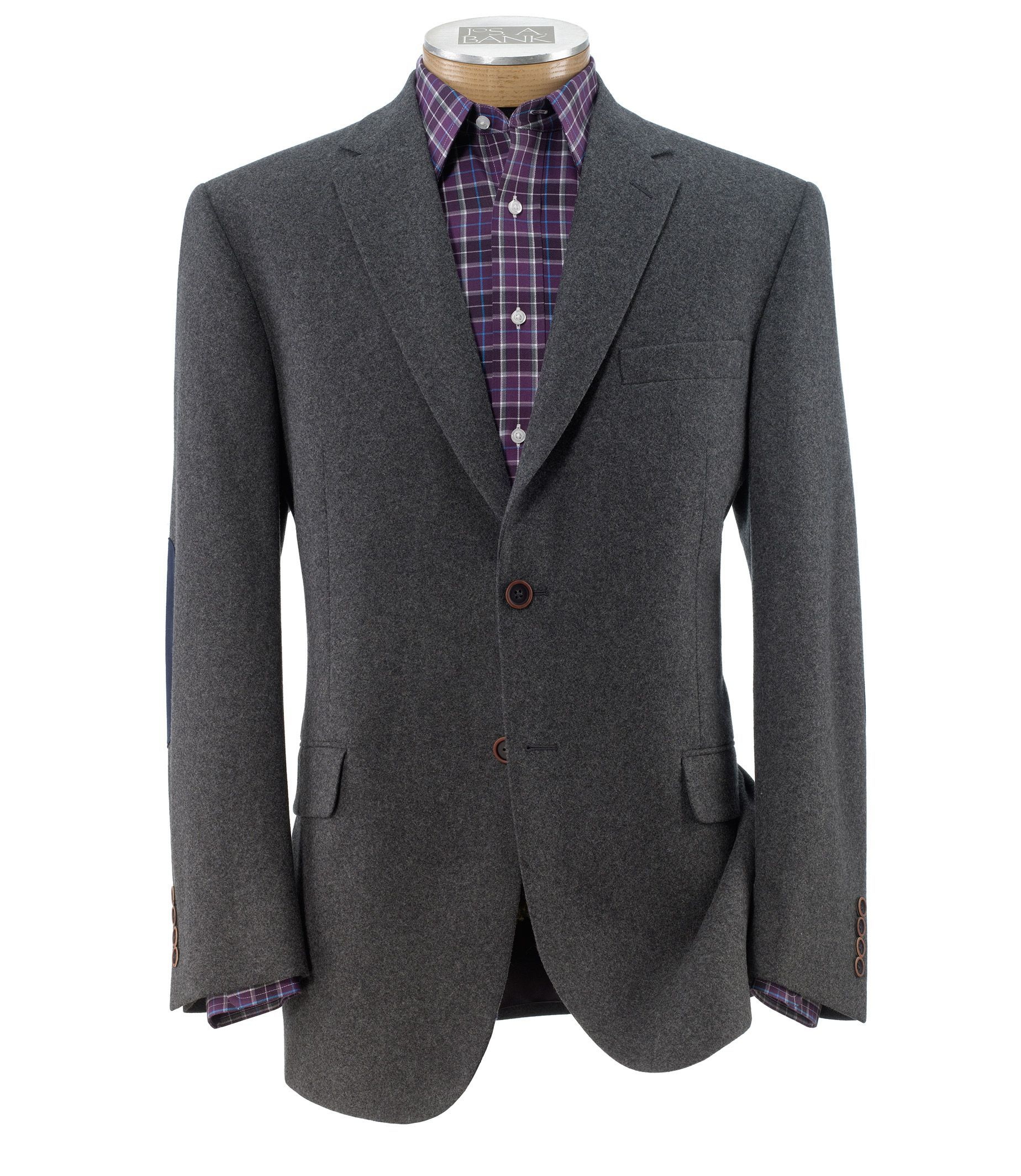 Jos. A. Bank Mens Heritage Tailored Fit 2-Button Sportcoat (Multi Colors)