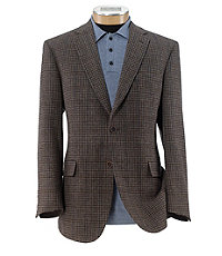 Heritage Tailored Fit 2 Button Patterned Sportcoat