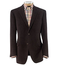 Traveler Tailored Fit 2 Button Camelhair Blazer