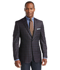 Signature Gold 2 Button Patterned Sportcoat