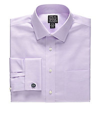 Signature Slim Fit Spread Collar/French Cuff Dress Shirt
