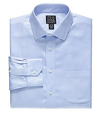 Signature Slim Fit Spread Collar Dress Shirt