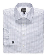 Signiture Self Collared/ French Cuff Dress Shirt