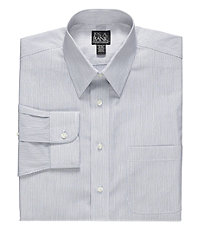 Travelers Slim Fit Point Collar Dress Shirt
